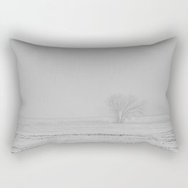 Foggy Horizon Rectangular Pillow