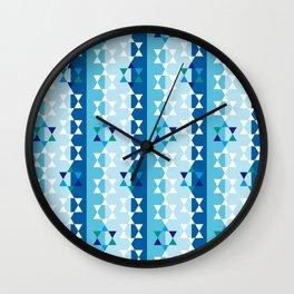 Hanukkah star of david Wall Clock