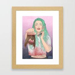 cut(e) Framed Art Print