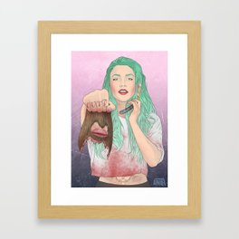 cut(e) Framed Art Print