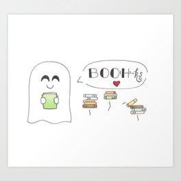 BOO(H)ks Art Print