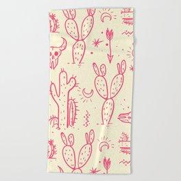 pattern21 Beach Towel