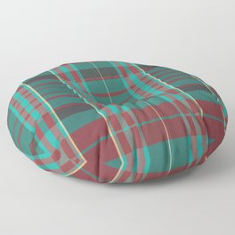 The Season Plaids  Floor Pillow