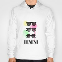 haim Hoodies featuring Haim (colour version) by Mariam Tronchoni
