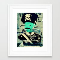 soldier Framed Art Prints featuring soldier by very giorgious