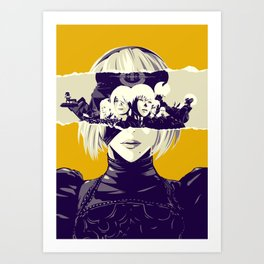 Misery - Nier Automata poster Art Print