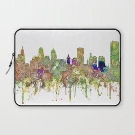 Buffalo, New York Skyline SG - Faded Glory Laptop Sleeve