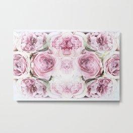 Pink Peonies Metal Print