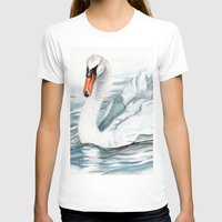 swan queen T-shirts featuring Swan by rchaem
