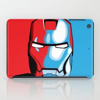 iron man iPad Cases featuring Iron Man by C.Rhodes Design