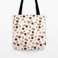 cookies Tote Bags featuring Cookies! by Sylvia Morris