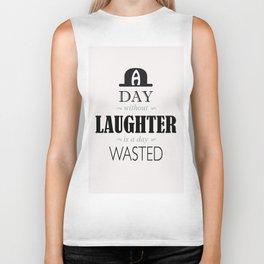 Laughing  Biker Tank