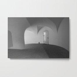 Copenhagen Round Tower 1 Metal Print