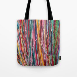 Story threads Tote Bag