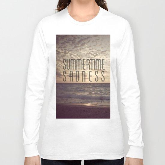 SUMMERTIME SADNESS Long Sleeve T-shirt