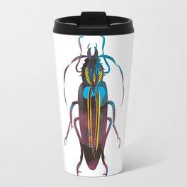 Christmas Beetle Neon Travel Mug