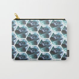 Water Honeycombs Carry-All Pouch