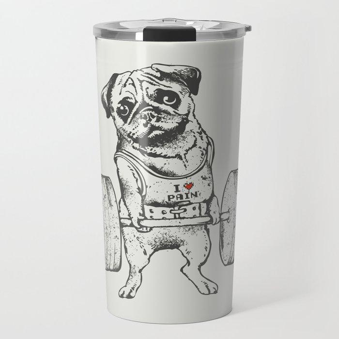 Pug Lift Travel Mug