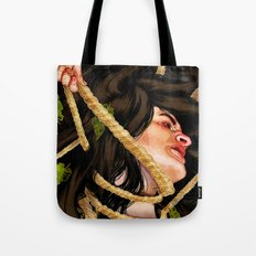 'Mother, mother, you have murdered me!' Tote Bag