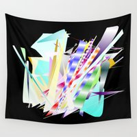 jazz Wall Tapestries featuring Jazz Band by Nancy Smith