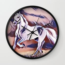 The American Paint Horse Wall Clock