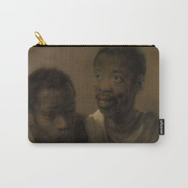 Two African Men Carry-All Pouch