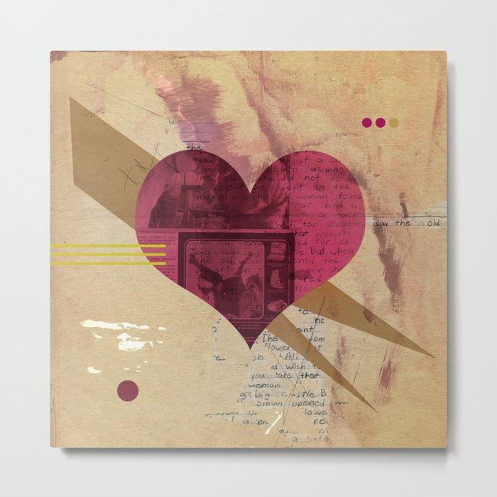 Valentine's Day Heart I Metal Print