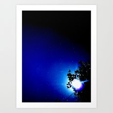 Stars in a day  Art Print