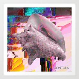 Contour - Chaos Theories - EP artwork Art Print
