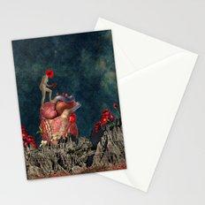 Mujer Amapola Stationery Cards