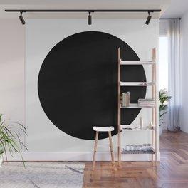 Black circle Wall Mural