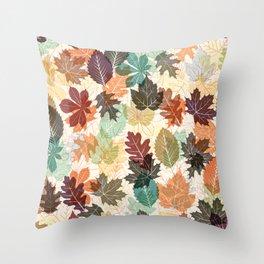 Autumn Leaves 2 Throw Pillow