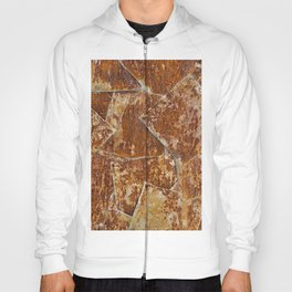 Abstract rusty background Hoody