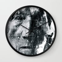 brave Wall Clocks featuring Brave  by C A R E Y  M O R T O N