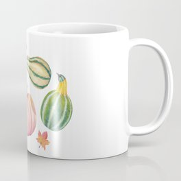 Autumn Gourds Coffee Mug