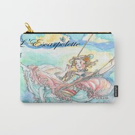 Illustration of L' Escarpolette by Joshua B. Wichterich Art Carry-All Pouch