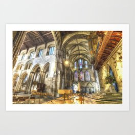 Rochester Cathedral Art Art Print
