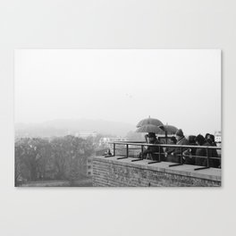 Looking for the dragon of Wawel Castle - Krakow, Poland Canvas Print