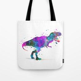 T-Rex Dinosaur Tote Bag
