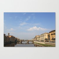 italy Canvas Prints featuring Italy by karleegerrand