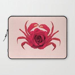 ROSE CRAB Laptop Sleeve