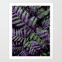 Purple & Green Bracken by moonshineparadise