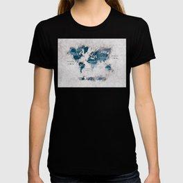 world map 13 #worldmap #map #world T-shirt