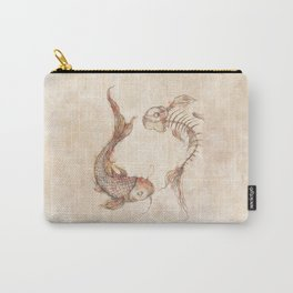 Yin Yang Fish Carry-All Pouch