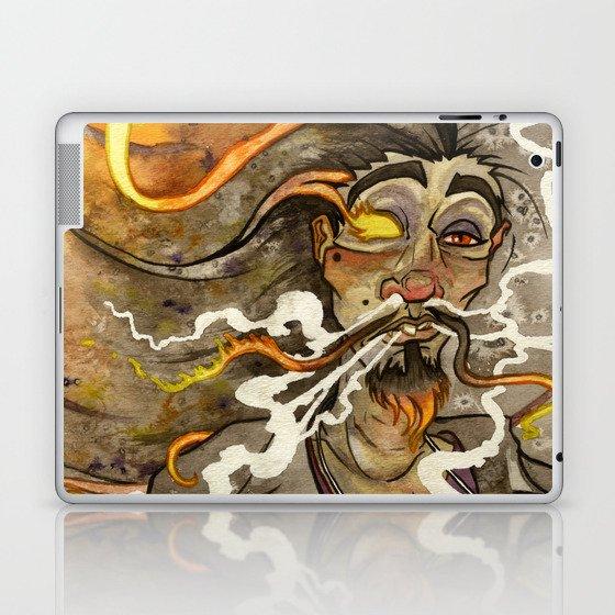 Smoke and Flame Laptop & iPad Skin