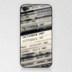 October 1987  iPhone & iPod Skin