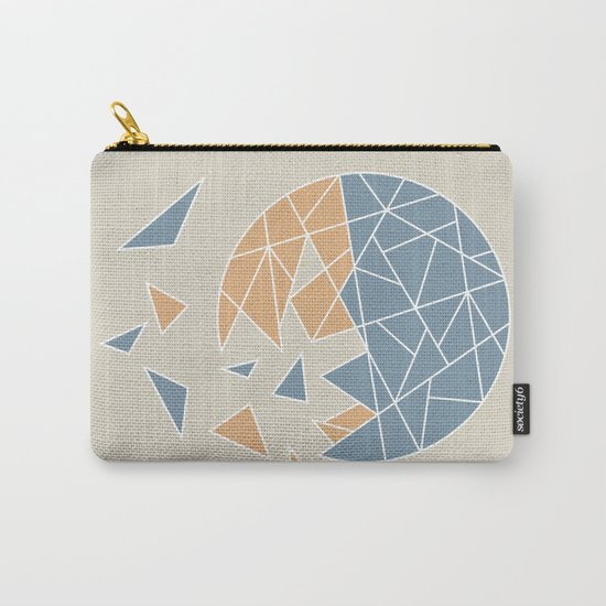 DISASTER (abstract geometric) Carry-All Pouch