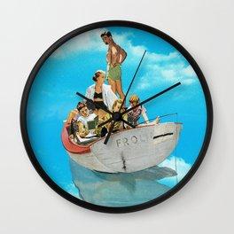 Fishing Time Wall Clock