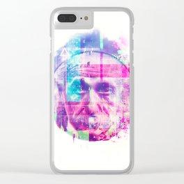 Artistic LXX - Albert Einstein Clear iPhone Case
