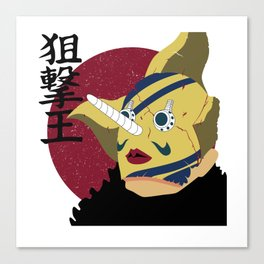 Sogeking The King of Sniper Canvas Print